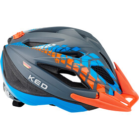 KED Street Jr. Pro Helmet Kinder grey